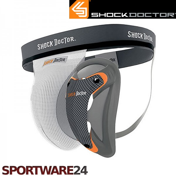 Shock-Doctor-Ultra-Supporter-mit-Ultra-Carbon-Flex-Cup-Tiefschutz-MMA-Eishockey